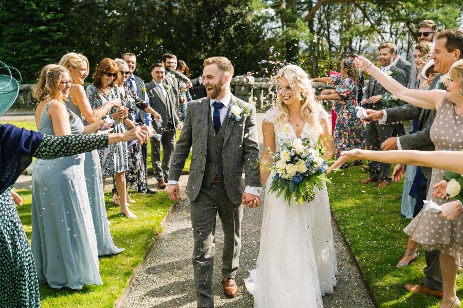 autumn wedding in bron Eifion