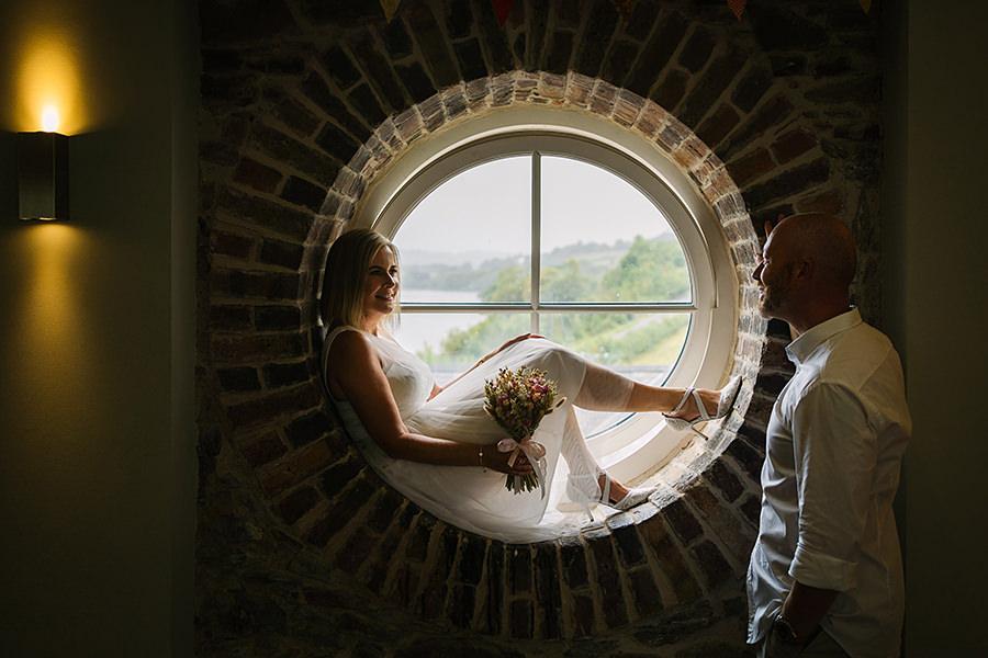Round window at Bodnant welsh food