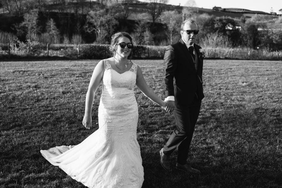 North Wales farm wedding